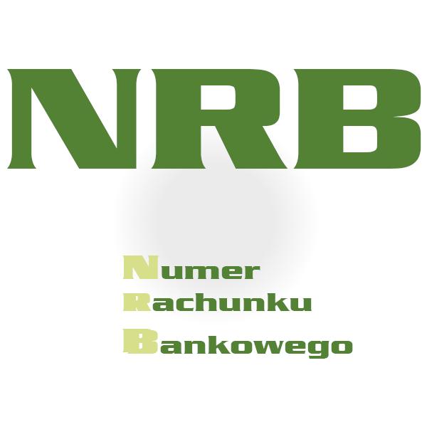 nrb - numer rachunku bankowego